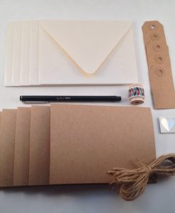 DIY Stationery Kit by PS Paper Shoppe | Make Your Own Greeting Cards Kit at Pop Shop America