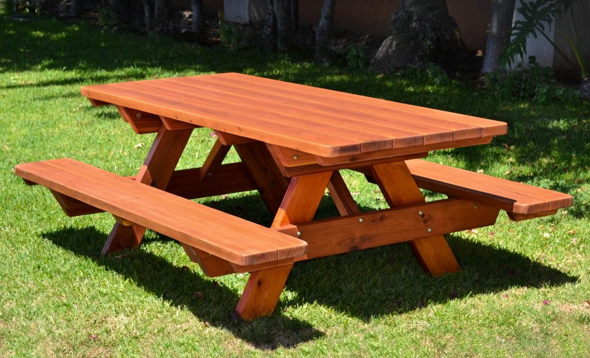 Picnic Table Instructions | How to Build a Picnic Table | DIY's ...