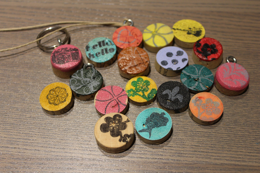 Lots of Different Cork Necklaces   DIY Necklaces with Pop Shop America   How to Make your Own Necklace