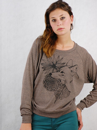 Supermaggie Coyote Coffee Tri Blend Pullover 3 315x420