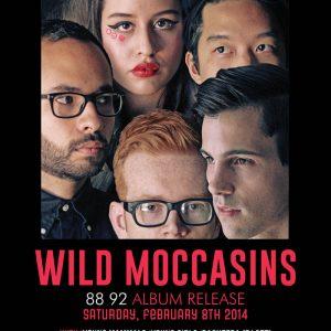 Wild Moccasins Album Release | Wild Moccasins 88 92 Album | Music Shows in Houston | Arts and Music in Houston TX