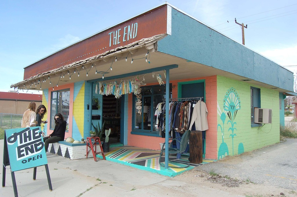 The End Vintage Shopping Joshua Tree Vintage Clothing