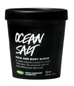 Ocean Salt Face & Body Scrub - Lush Cosmetics