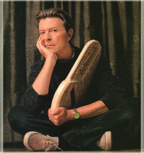 david bowie with omnichord