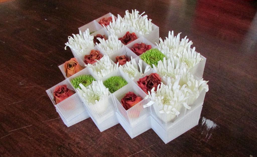 flower vase side