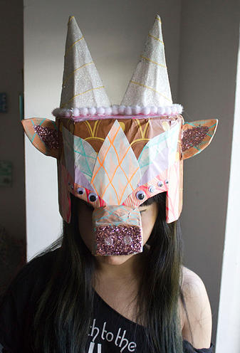Crazy Masks by Kristen M. Liu from Pop Shop America Design Shop