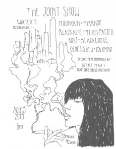 joint show flyer