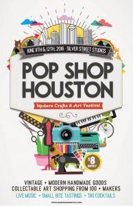 Pop Shop Houston Art Festival Craft Shows in Houston 2016 | Modern Handmade
