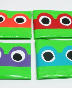 DIY Ninja Turtle Wallet