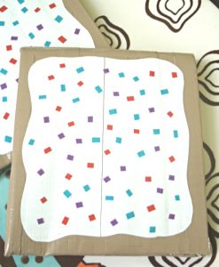 DIY Sprinkled Pop Tart Wallet