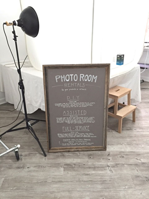 photo studio at ka artist shop