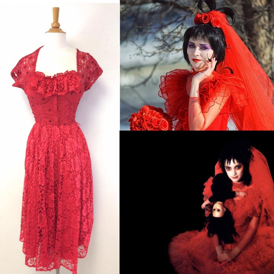 Beetlejuice Halloween Costume| Turn Vintage into Halloween Costumes | Beetlejuice Halloween Mood Board