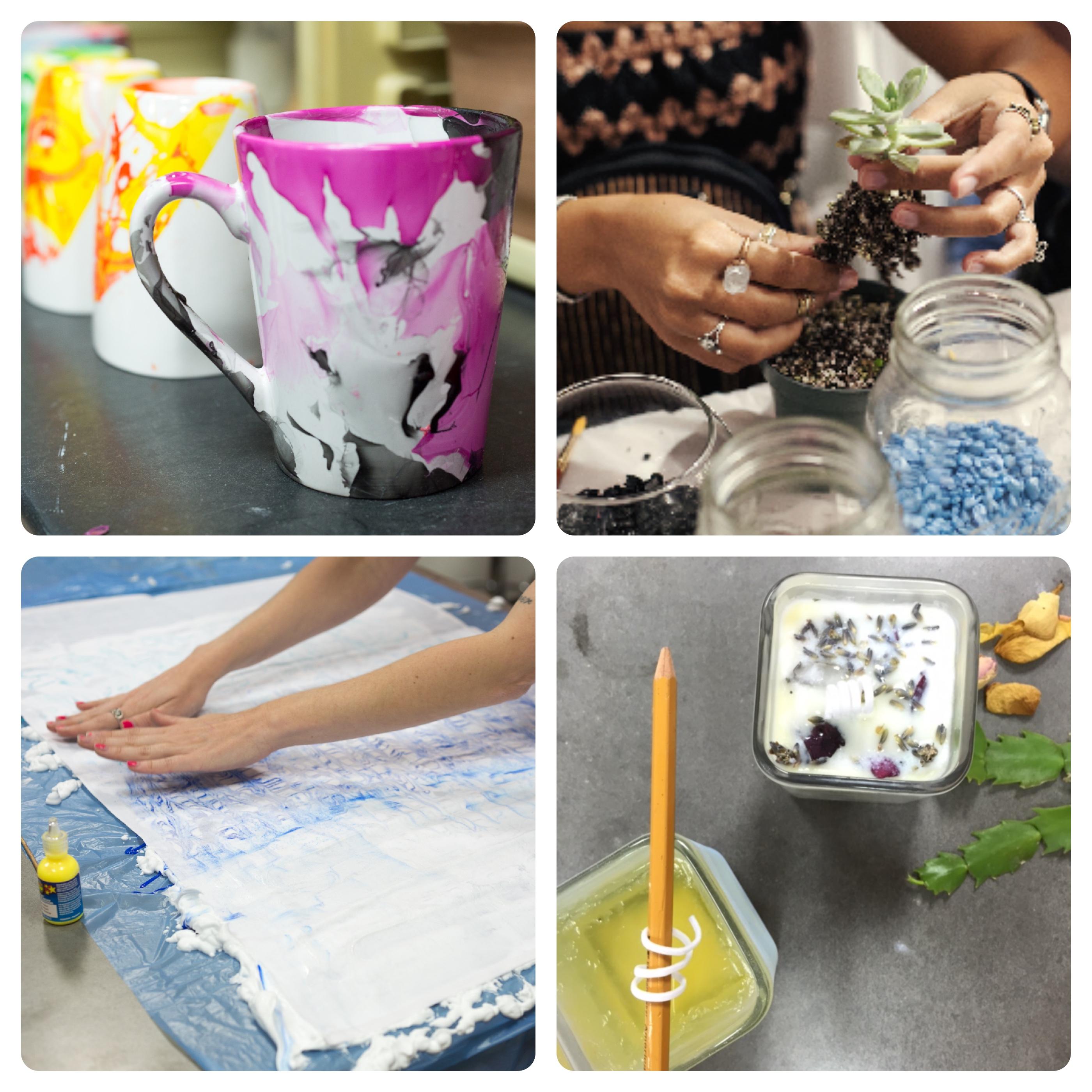 Shop America shrinky dink workshop | craft classes houston | pop shop america