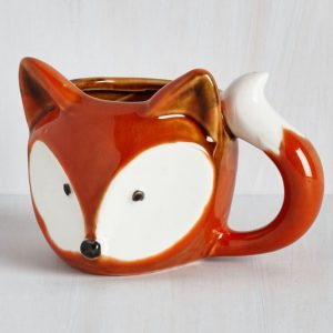 fox mug from modcloth