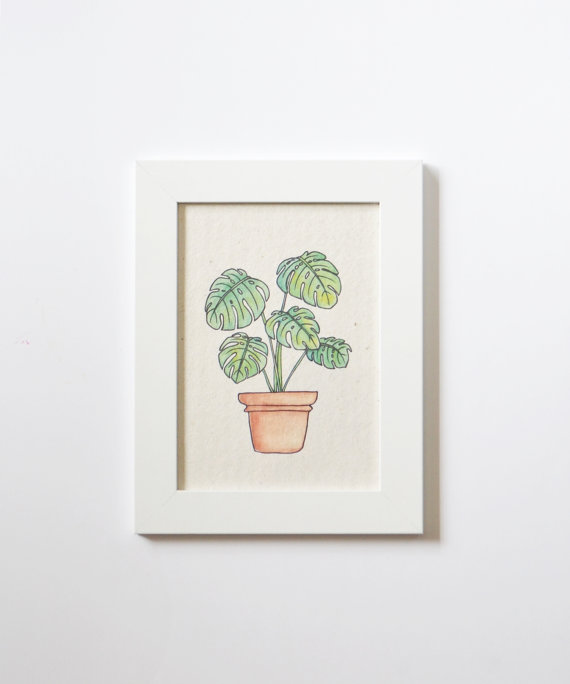 shop witty pop shop black friday fest 2015 hand drawn plant