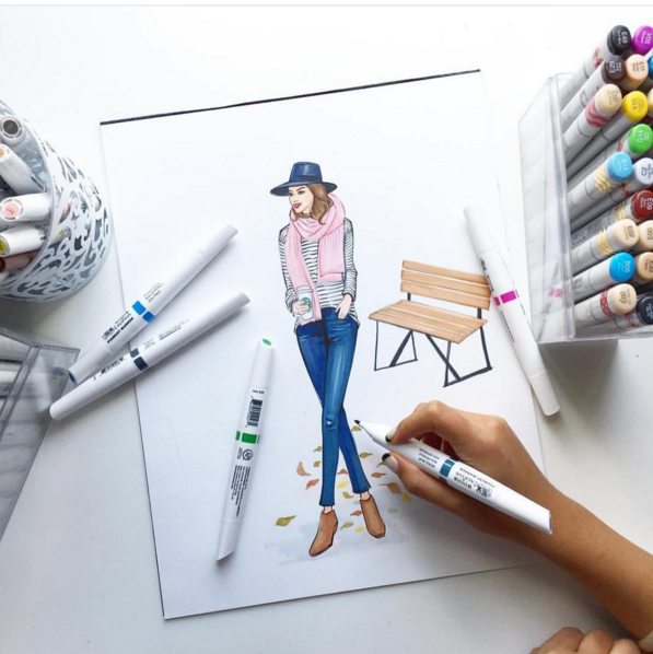 DeVoe and the Golden Art of Fashion Illustration - Pop Shop America