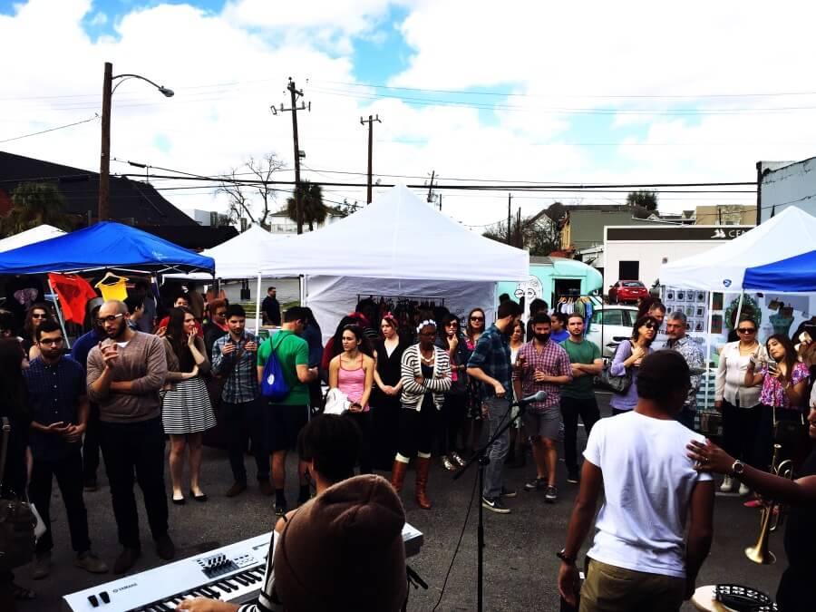 leybon at Mini Pops Montrose Market for blog   Mini Pops a Monthly Pop Up Market in Montrose   Art Market Montrose   Craft Fairs Houston
