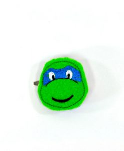 teenage-mutant-ninja-turtles-barrette| Leonardo TMNT Hair Clip | Handmade Accessories | Pop Shop America Hosts Art Events in Houston