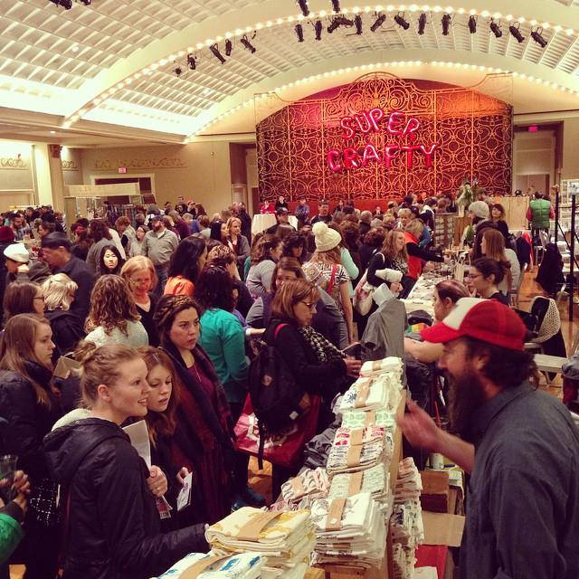 crafty supermarket craft show | best art fairs in the us