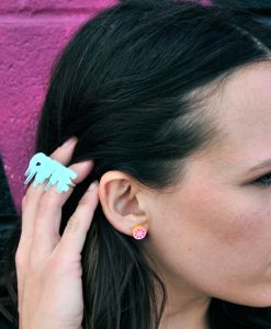 michelle-wearing-cute-kawaii-ring | Kawaii Jewelry from the Happy Sun Kawaii Fun Look Book Spring at Pop Shop America Fashion Blog