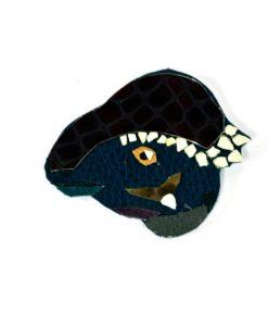 navy-leather-ankylosaurus-dinosaur-brooch