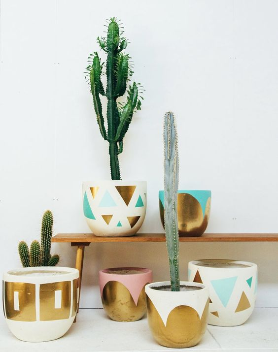 stylish planters by pop and scott