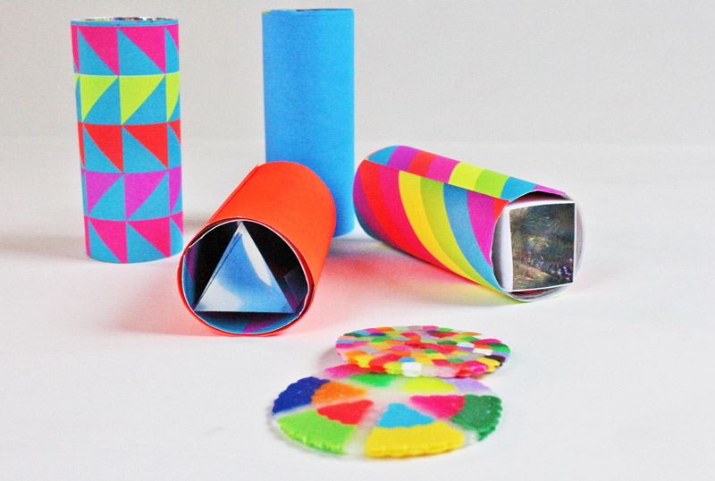 How to Make Your Own kaleidoscope and STEAM DIY's from the Pop Shop blog