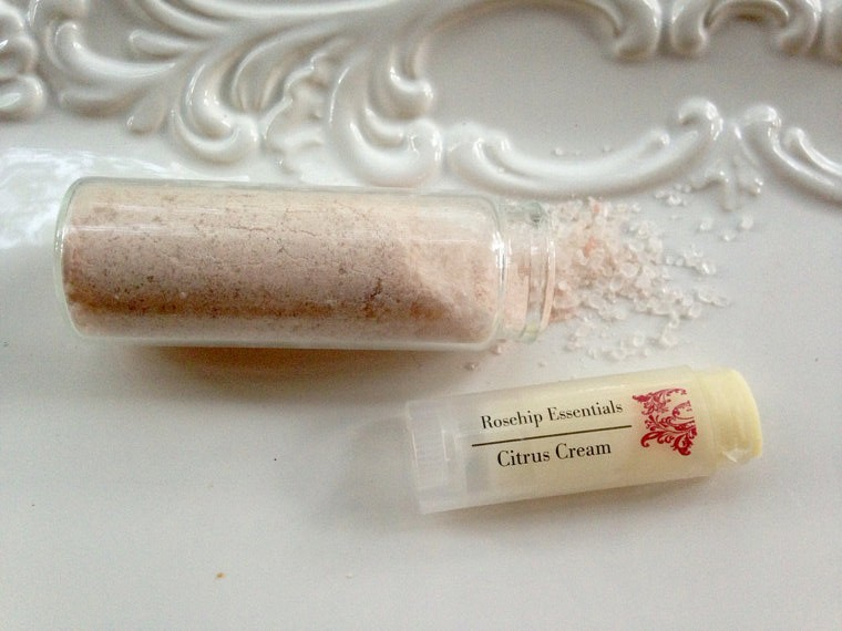 rosehip essentials french clay mask handmade beauty products