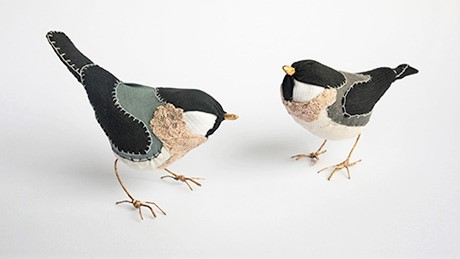 Lauren Porter Birds | Handmade British Art | Contemporary Textile Art
