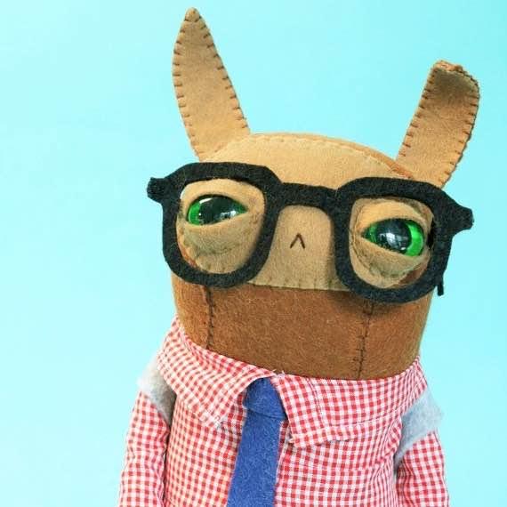 cat rabbit plush bunny doll featured image pop shop america art blog