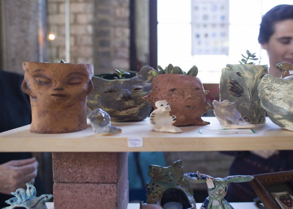handmade pottery from hudson new york farm and flea