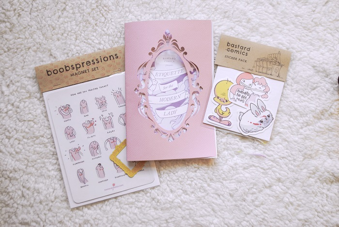 Lauren Feehery el Fury handmade stickers are cute goods made by El Fury