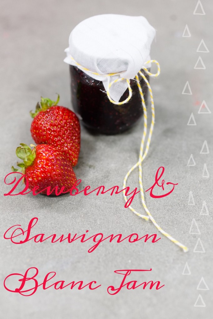 dewberry and sauvignon blanc recipe pinterest pin