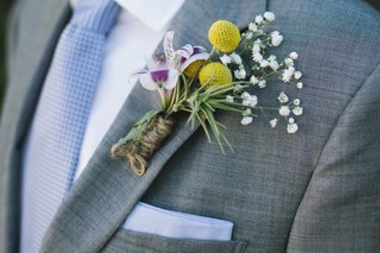 diy air plant boutonnieres mens wedding diys from darby smart