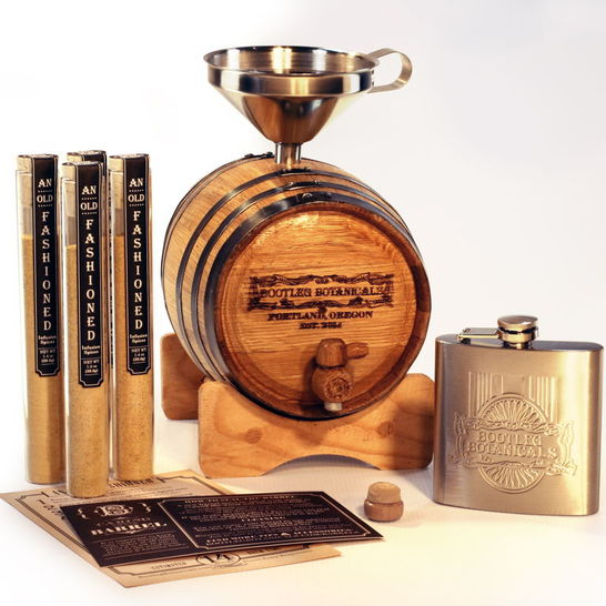 old fashioned whiskey cocktail barrel aging kit by darby smart