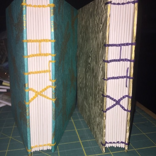 1 Plus 2 Equals LOVE book binding journal htx
