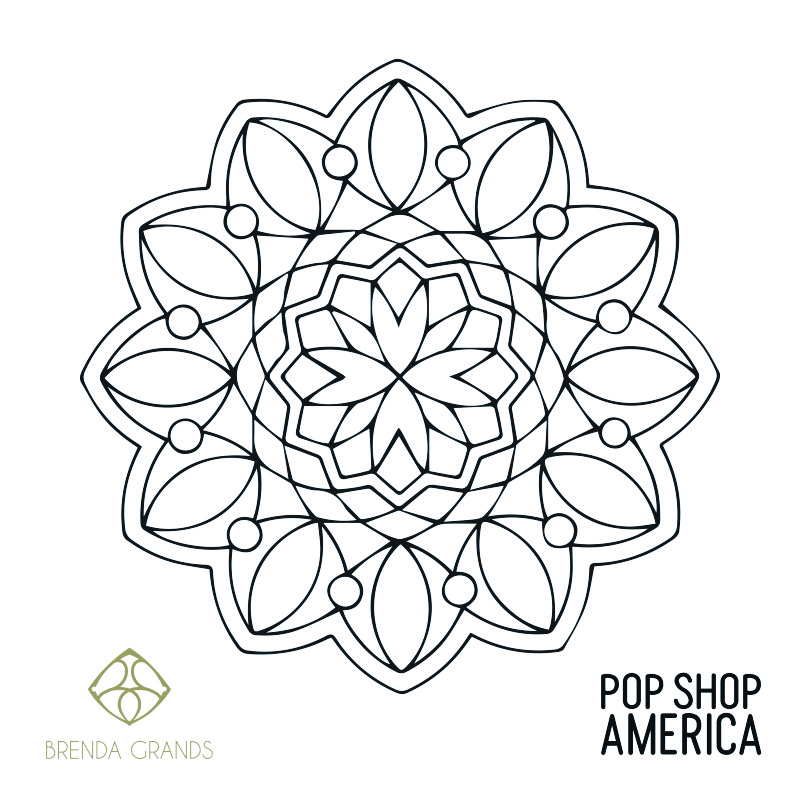 Free Printable Mandala coloring Poster 1 by pop shop america_small