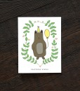 bearthday wishes handcrafted birthday card