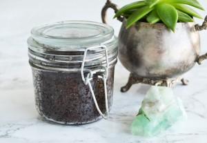 Smoothing Coffee Scrub DIY