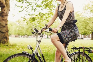 get fit girls on bike for pop shop america blog_small