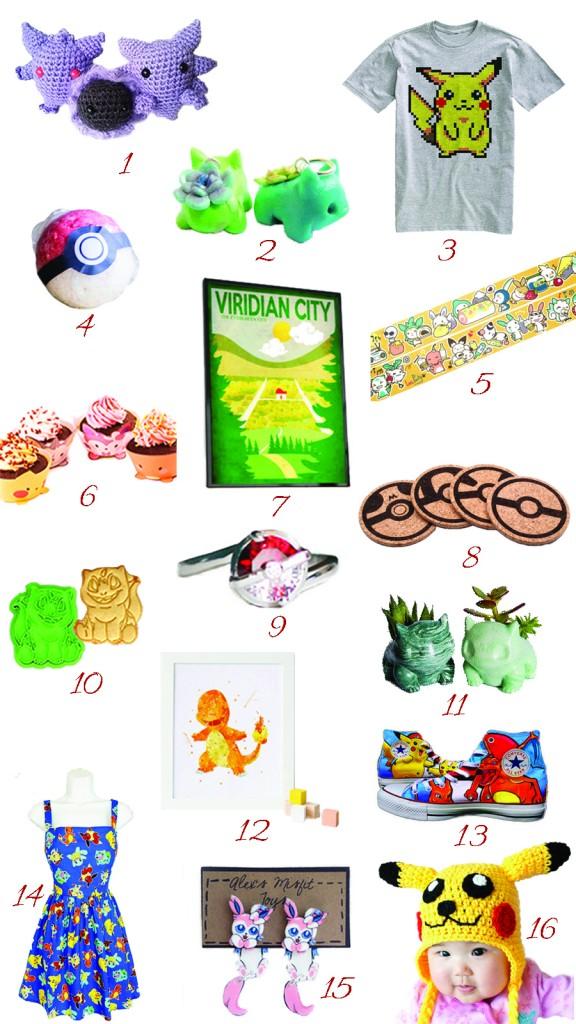 handmade pokemon gift guide etsy