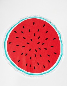 watermelon beach towel ASOS