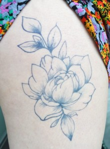 Temporary Tattoos - Peony Temporary Tattoo by Hand Make Your Own Temporary Tattoos