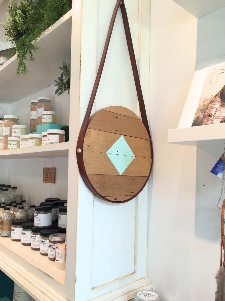 adrift in my mind and cute body care products at space montrose houston