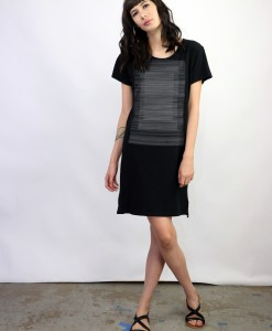 Supermaggie Lines Black Naomi Dress_lg