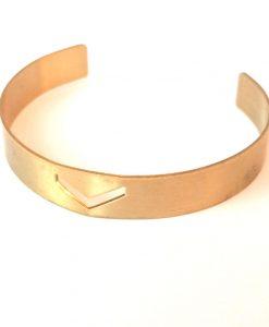 brass-chevron-bangle-bracelet-boho-jewelry