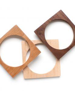 square-wood-bangle-bracelet