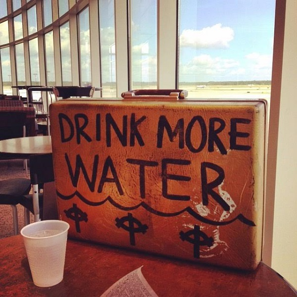 """Drink More Water"" Merchandise case"