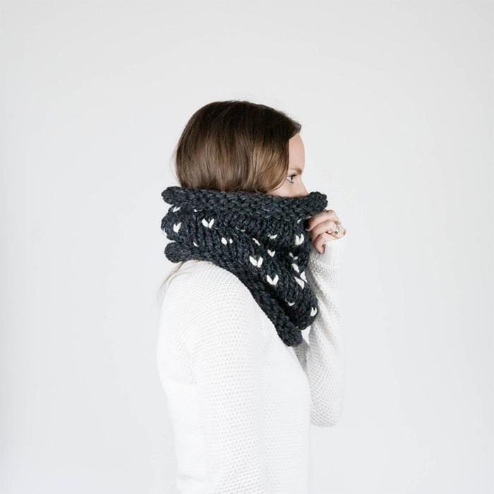 Best knitting projects: fair isle Kodiak cowl