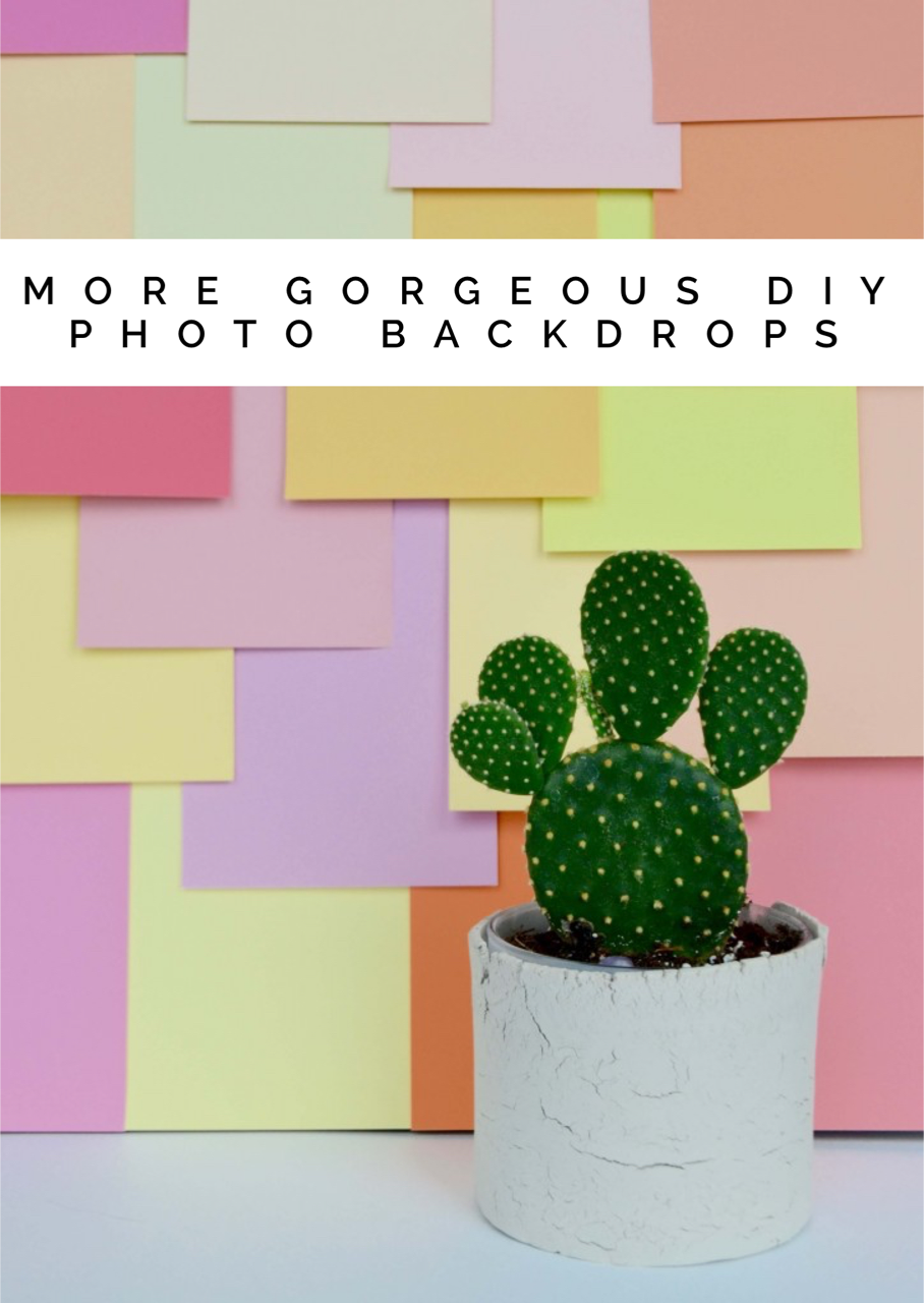more diy photo backdrops pop shop america